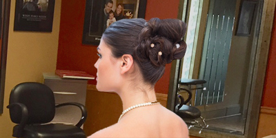 Special Occasion Up Do at Salon Frank Paul in Colorado Springs